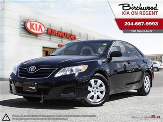 2011 TOYOTA CAMRY LE *MONTH END MARKDOWN PRICING ON NOW!* in Winnipeg, Manitoba