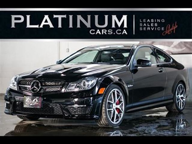 2014 Mercedes-Benz C-Class C63 AMG, 507 EDITION, NAVI, FORGED WHEELS in North York, Ontario
