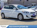 2016 Hyundai Accent GL 14336 km's Off Lease Accident Free Bluetooth in Bolton, Ontario