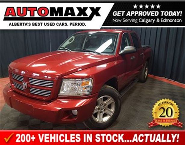2011 Dodge Dakota SXT Crew Cab! in Calgary, Alberta