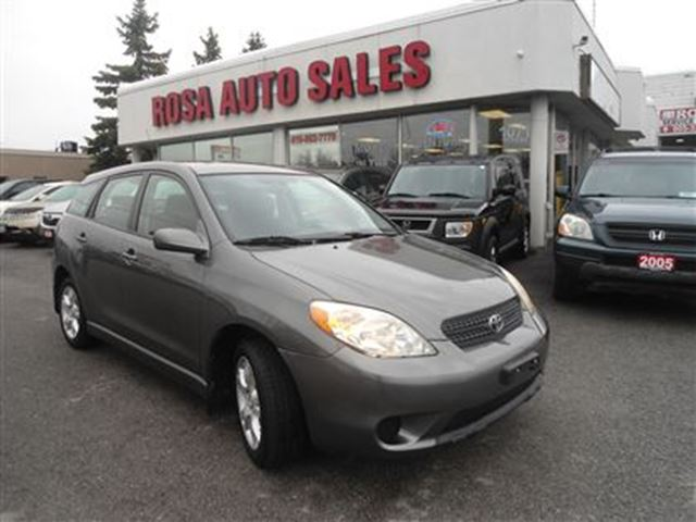 2007 TOYOTA MATRIX 5dr Wgn Auto XRPW  one owner PL PM LOCAL ONTARIO N in Oakville, Ontario