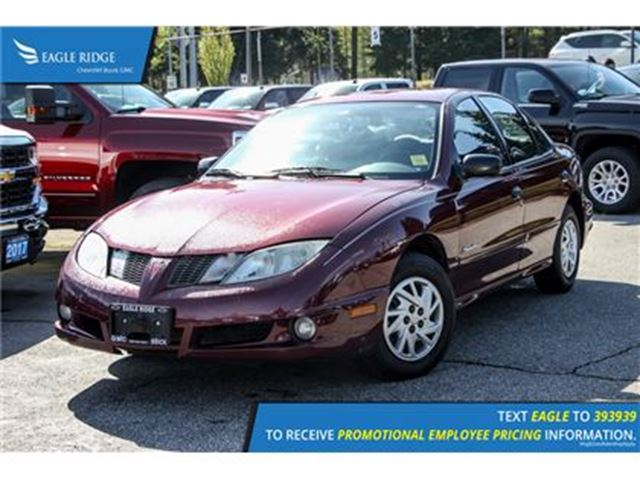 2004 PONTIAC SUNFIRE - in Coquitlam, British Columbia