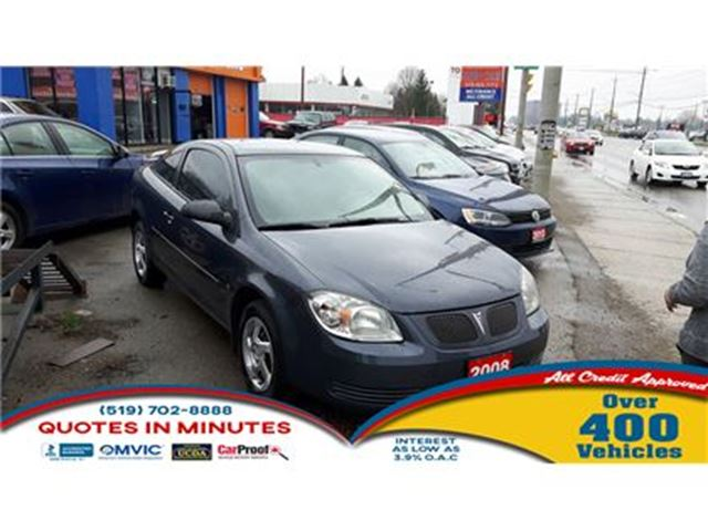 2008 PONTIAC G5 AS-IS SPECIAL in London, Ontario