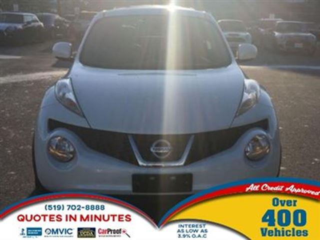 2013 NISSAN JUKE SL   AWD   NAV   LEATHER   ROOF   BACKUP CAM in London, Ontario