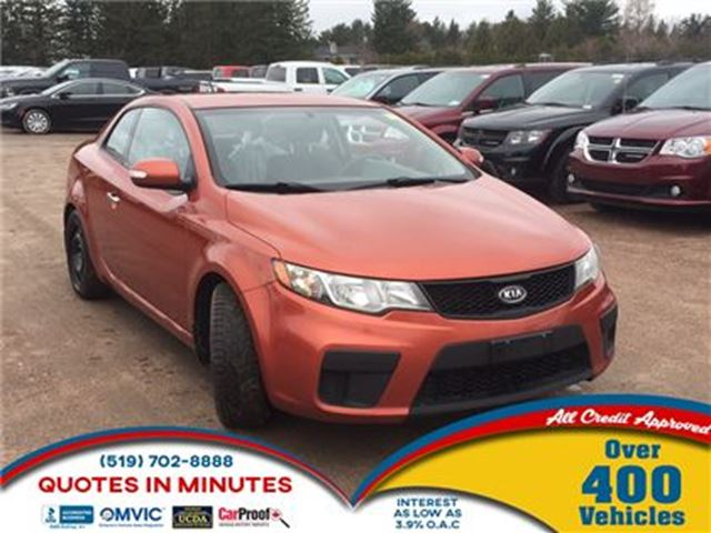 2010 KIA FORTE Koup EX   SPORTY   HEATED SEATS in London, Ontario