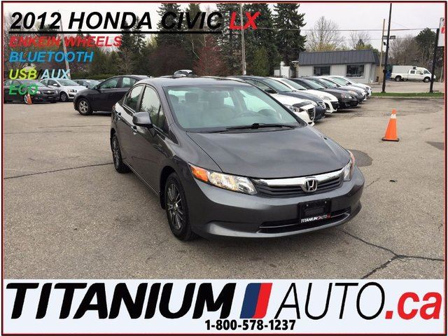 2012 HONDA CIVIC LX+Bluetooth+Alloys+Keyless+Cruise & Traction Cont in London, Ontario