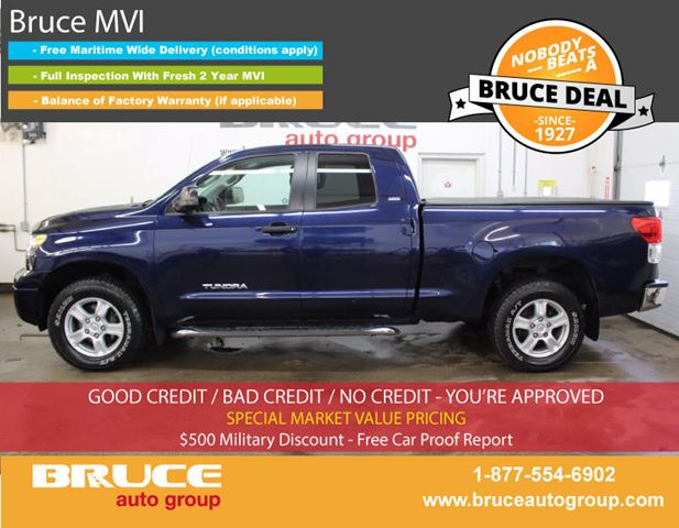 2010 Toyota Tundra SR5 4.6L 8 CYL AUTOMATIC 4X4 DOUBLE CAB in Middleton, Nova Scotia