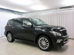 2015 Infiniti QX80 4WD 7 PASS w/ TECHNOLOGY PACKAGE, REAR DVD, BLI in Halifax, Nova Scotia