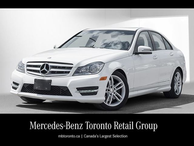 2013 mercedes benz c class c300 4matic sedan markham for Average insurance cost for mercedes benz c300