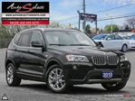 2013 BMW X3 xDrive28i AWD ONLY 66K! **360 VIEW CAMERAS** CLEAN CARPROOF in Scarborough, Ontario