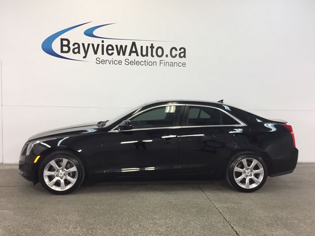 2014 CADILLAC ATS  -TURBO! ROOF! BIG SCREEN! HEATED LEATHER! in Belleville, Ontario