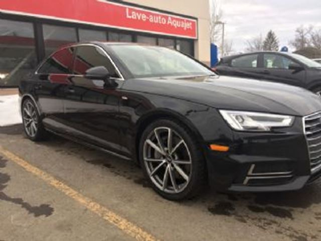 2017 Audi A4 S-LINE AUDI CARE in Mississauga, Ontario