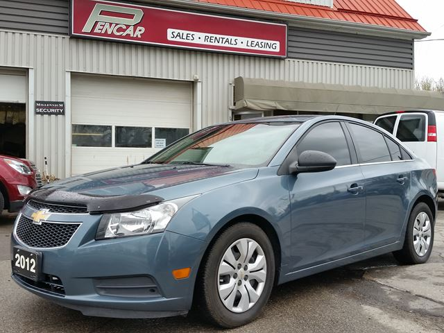 2012 chevrolet cruze ls w 1sb blue pencar auto sales. Black Bedroom Furniture Sets. Home Design Ideas