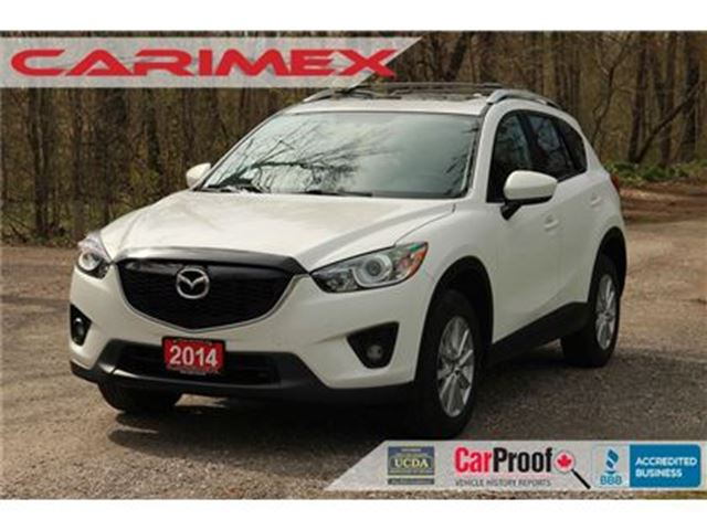 2014 MAZDA CX-5 GS   AWD + Sunroof + Bluetooth + CERTIFIED in Kitchener, Ontario