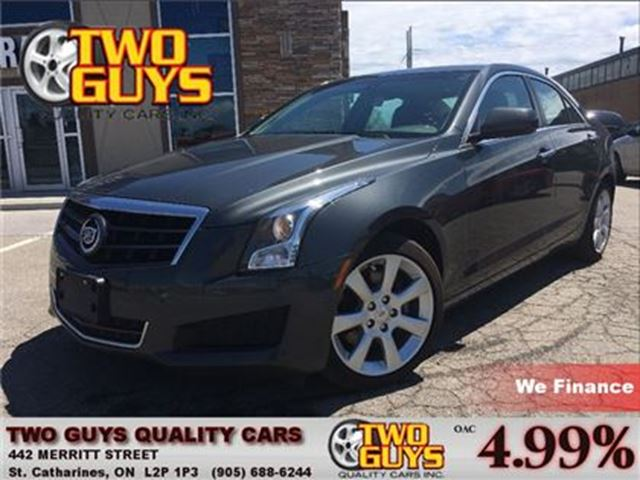 2014 CADILLAC ATS 2.0L Turbo LEATHER SUN ROOF BACK UP CAMERA in St Catharines, Ontario