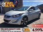 2014 Hyundai Elantra Limited Tech NAVIGATION SUN ROOF in St Catharines, Ontario