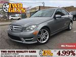 2013 Mercedes-Benz C-Class C 300 4MATIC AWD LIMITED PKG MOON ROOF LEATHER in St Catharines, Ontario