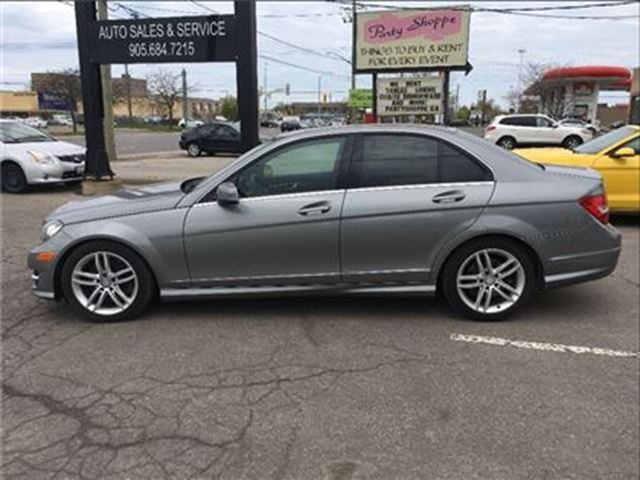 Used 2013 mercedes benz c class v 6 cy 300 4matic leather for Performance mercedes benz st catharines
