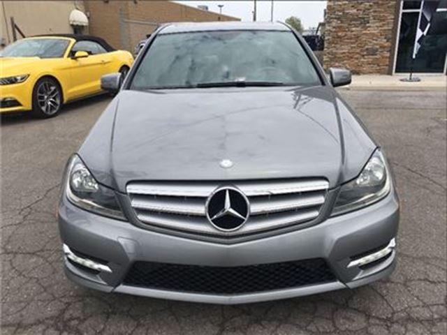 Used 2013 mercedes benz c class v 6 cy 300 4matic leather for Mercedes benz st catharines