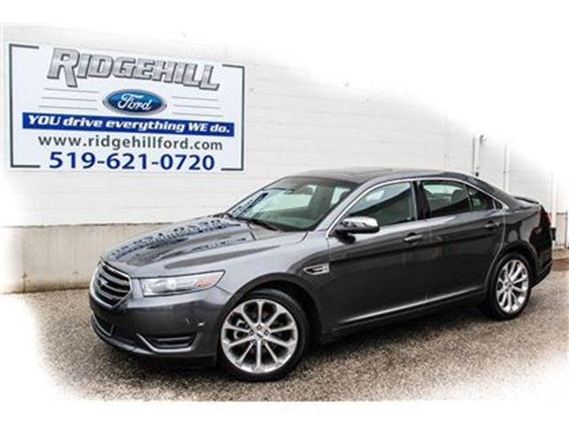 2016 Ford Taurus Limited  AWD  LEATHER  NAVIGATION  SUNROOF in Cambridge, Ontario