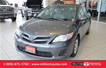 2013 Toyota Corolla CE, 5 Speed, Sunroof, Heated Seats in Milton, Ontario