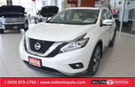 2016 Nissan Murano Platinum, Leather, Navigation, Panoramic Roof in Milton, Ontario