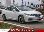 2015 Honda Civic EX Moon Roof Bluetooth Accident Free in Bolton, Ontario