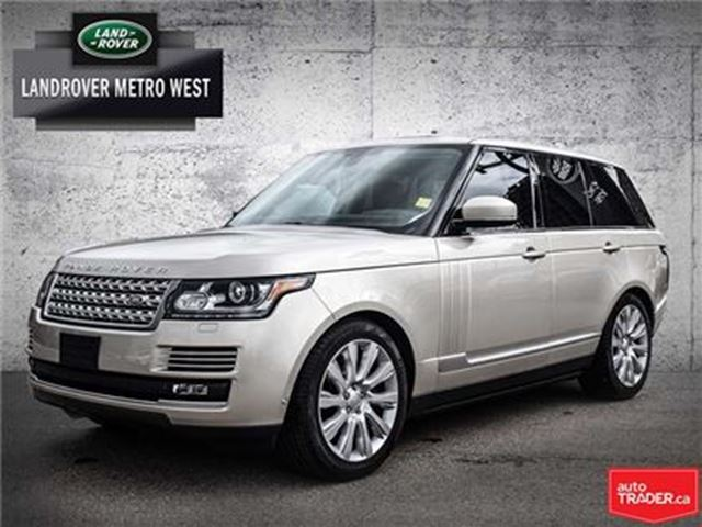 2014 LAND ROVER RANGE ROVER 5.0L V8 Supercharged in Toronto, Ontario