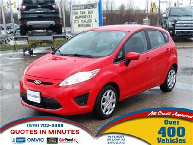 2012 FORD FIESTA SE   GAS SAVER IN TIME FOR SUMMER in London, Ontario