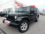 2014 Jeep Wrangler Unlimited SAHARA, TWO DIFFERENT TOPS,LEATHER! in Belleville, Ontario