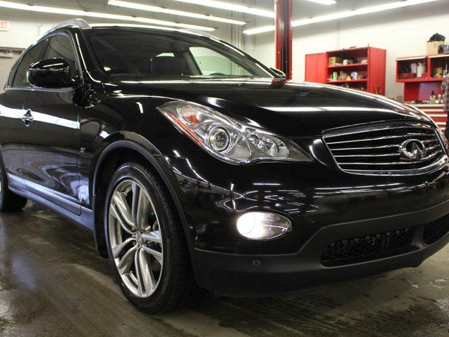 2015 Infiniti QX50 AWD, V6, ONE OWNER, SUNROOF, BLUETOOTH, HEATED SEATS in Edmonton, Alberta