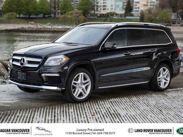 2014 MERCEDES-BENZ GL-CLASS 4MATIC in Vancouver, British Columbia