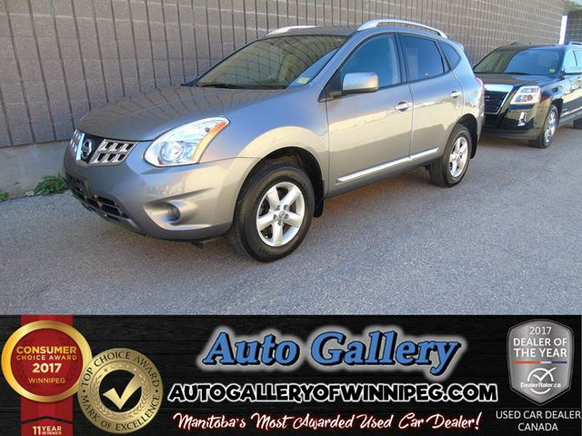 2013 Nissan Rogue S AWD *Roof in Winnipeg, Manitoba