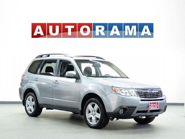 2010 SUBARU FORESTER LEATHER  SUNROOF 4WD in North York, Ontario