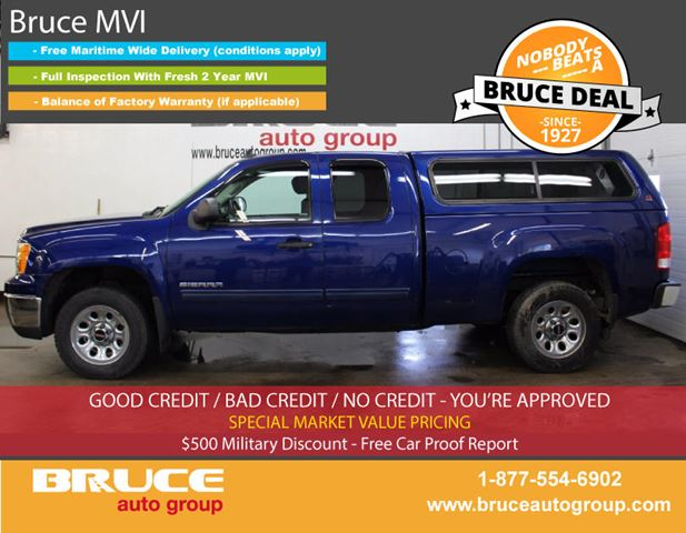 2013 GMC Sierra 1500 SLE 4.8L 8 CYL AUTOMATIC RWD EXTENDED CAB in Middleton, Nova Scotia