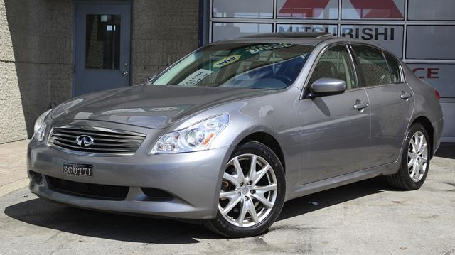 2009 Infiniti G37  X Sport AWD Cuir in Montreal, Quebec