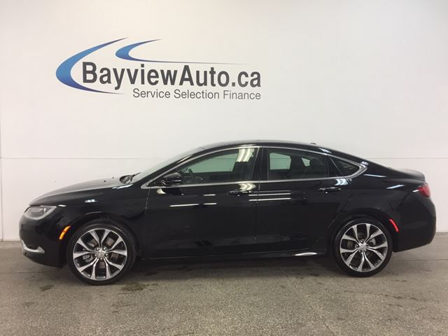 2016 CHRYSLER 200 C- REM START! PANOROOF! LEATHER! NAV! REV CAM!  in Belleville, Ontario