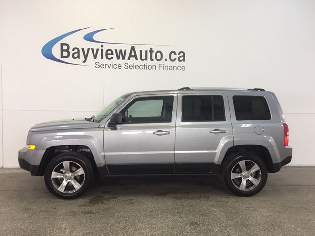 2016 JEEP PATRIOT HIGH ALTITUDE- 4x4! ALLOYS! SUNROOF! LEATHER! in Belleville, Ontario