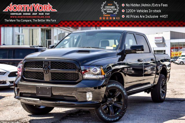 2017 dodge ram 1500 new car sport night edition 4x4 convi pkg crew nav sunroof 20alloys. Black Bedroom Furniture Sets. Home Design Ideas