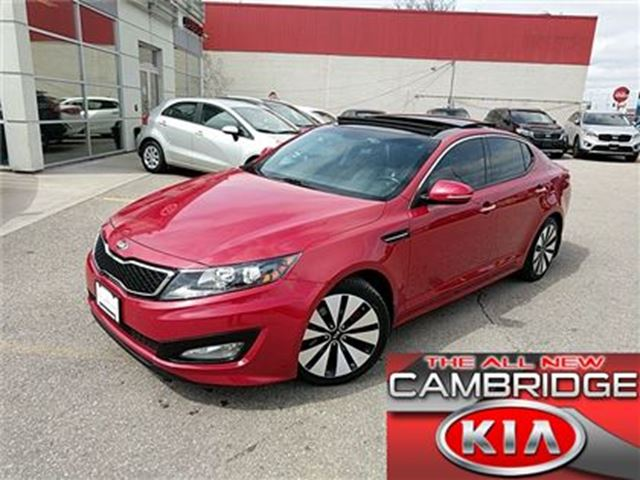 2013 Kia Optima SX TURBO KIA CERTIFIED PRE-OWNED in Cambridge, Ontario