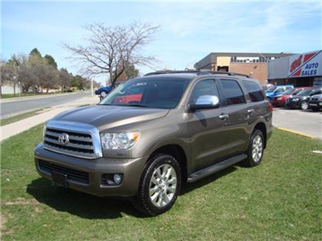 2012 Toyota Sequoia Limited 5.7L V8 ~ 8 PASS. ~ NAVIGATION ~ in Toronto, Ontario