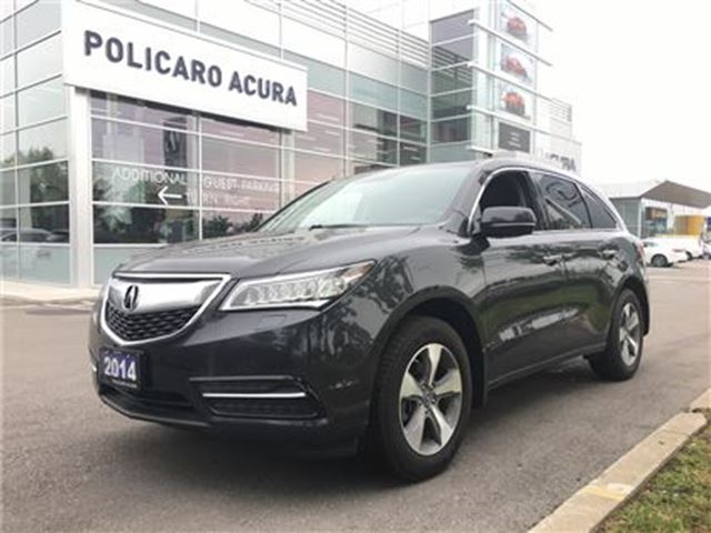 2015 ACURA MDX at Entry level model, One Owner, Factory Warranty! in Brampton, Ontario