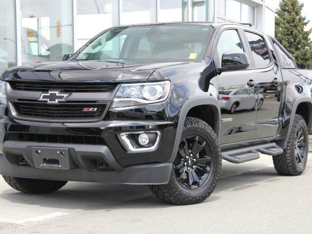 2016 CHEVROLET COLORADO Z71 4x4 Crew Cab 5 ft. box 128.3 in. WB in Kamloops, British Columbia