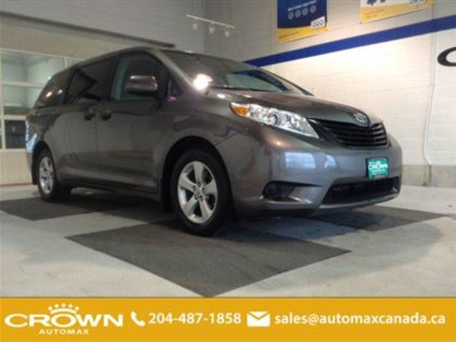 2013 TOYOTA SIENNA 7 Pass V6 *Bluetooth/Alloys/Remote Start! in Winnipeg, Manitoba