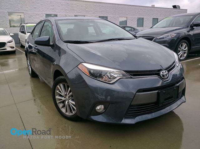 2015 Toyota Corolla CE A/T No Accident Local Bluetooth Sunroof Rear in Port Moody, British Columbia