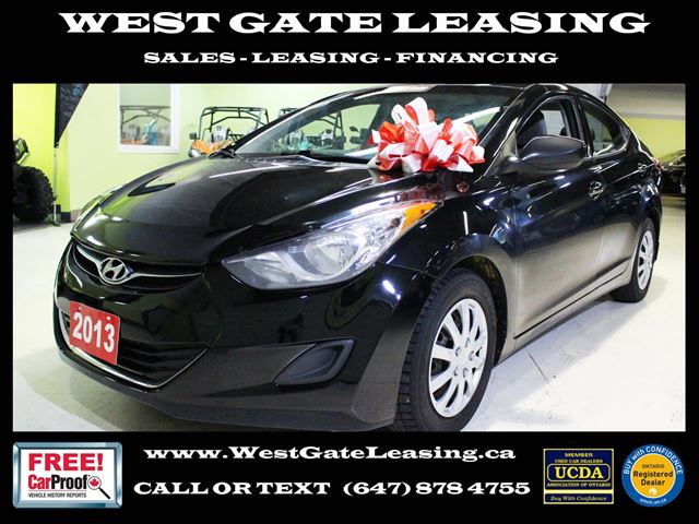 2013 Hyundai Elantra GL  HEATED SEATS   in Vaughan, Ontario