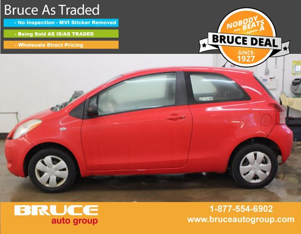 2006 Toyota Yaris CE 1.5L 4 CYL 5 SPD MANUAL FWD 3D HATCHBACK in Middleton, Nova Scotia