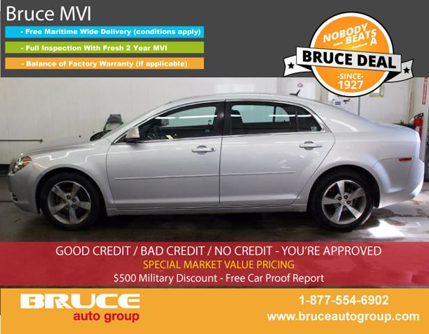 2011 Chevrolet Malibu LT 2.4L 4 CYL AUTOMATIC FWD 4D SEDAN in Middleton, Nova Scotia