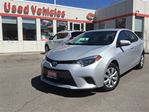 2015 Toyota Corolla LE, HEATED SEATS, BLUETOOTH, CAMERA in Toronto, Ontario