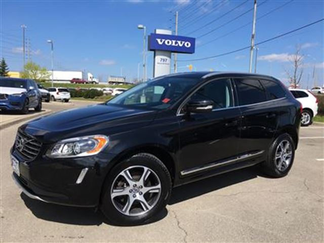2014 VOLVO XC60 T6 AWD A Premier Plus LEASED RETURN VOLVO CERTIFIE in Mississauga, Ontario